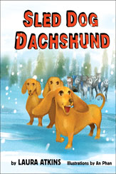 Sled Dog Dachshund Book Cover